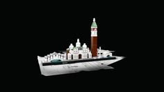 Celebrate Venice with this LEGO® Architecture Skyline model! Lego Architecture, Burj Khalifa, Legos, Venice, Statue, Iconic Beauty, Collections, Gift Ideas, Products