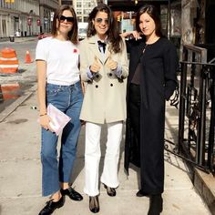 ICYMI: @glossier's Emily Weiss and @ayr's Maggie Winter sit down to discuss female entrepreneurship with our @leandramedine in today's round table. Up on site now! #MRCareersMonth by manrepeller