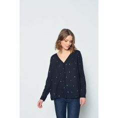blouse romane frutti @ DES PETITS HAUTS