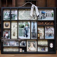"* Printer's Tray ""Brugge"" @ Ute's Scrapblog"