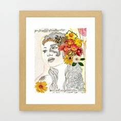 Dot & Bo Bohemian Princess Art Print ($25) ❤ liked on Polyvore