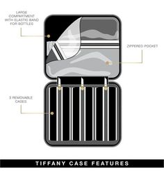 Tiffany Travel Case