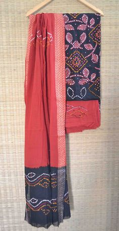 """The #Bandhani work has been exclusively carried out by the Khatri community of #Kutchh. A meter length of cloth can have millions of tiny knots known as """"Bheendi"""" in the local language (""""Kutchhi""""). Bandhani work is also done in #Rajasthan state but having different types of colors and designs than the Kutch and Saurashtra of Gujarat. In Bandhani, different colors convey different meanings."""
