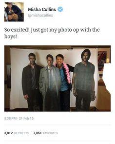 Oh Misha... :)