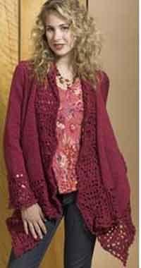 Free Crochet Patterns Plus Size Ponchos : *27* Free Crochet Patterns for Plus Size Fashions Link ...