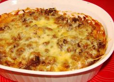 Lazy Cabbage Roll Casserole