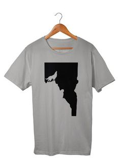 Wolf Men's T-Shirt  #Apparel  #GoOutLocal #OnlyinIdaho #Boise #MensTShirt #Wolf