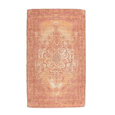 Cotton chenille carpet in orange color. The timeless pattern of this rug, is a classic choice for your home. Rugs On Carpet, Carpets, Fabric Rug, Orange Color, Pattern, Home Decor, Collection, Farmhouse Rugs, Rugs