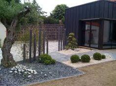 Картинки по запросу diseño jardines pequeños con piedras