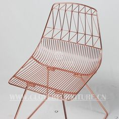 Lucy Chair Modern Wire Chair Copper Color - Buy Wire Chair Copper Color,Lucy Chair,Modern Wire Chair Copper Color Product on Alibaba.com