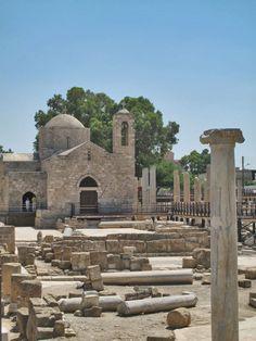 The Early Christian Basilica of Panayia Chrysopolitissa and Ayia Kyriaki Church, Paphos