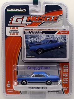 1969 /'69 PONTIAC FIREBIRD TRANS AM TA VINTAGE MUSCLE AUTOWORLD ROUND 2 DIECAST