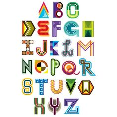 Alphabets of all kinds for all ages ❤ liked on Polyvore featuring words