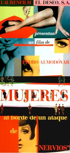 Almodovar titles // Cheeky Design