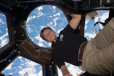 NASA astronaut Peggy Whitson broke the record for cumulative time spent in space by a U.S. astronaut at 1:27 a.m. EDT on April 24.