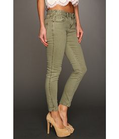 Another newest wardrobe addition:  Free People Herringbone Cropped Skinny Jean size 25