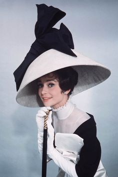 Audrey Hepburn by Cecil Beaton for My Fair Lady