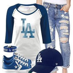Los Angeles Dodgers Converse Outfit
