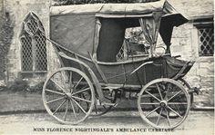 Florence Nightingale's ambulance carriage –UK, -- 65 Photos of Vintage Nurses—Nurses Through the Centuries History Of Nursing, Medical History, Medical Art, Florence Nightingale, Professional Nurse, Vintage Nurse, Oldschool, Nursing Notes, Alternate History