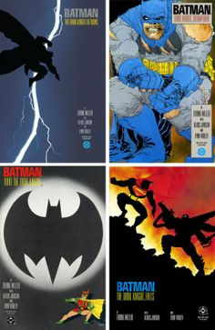 Batman: The Dark Knight Returns. The epic 4 book series written by Frank Miller, with Klaus Janson and Lynn Varney.