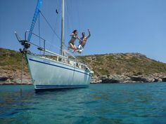 athens day sail charter or cabin charter