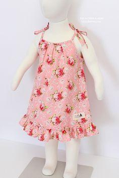 Florence  Dress (6 - 24 months) PDF Pattern