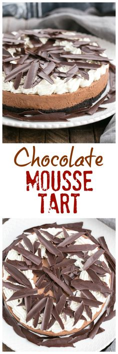 Easy Chocolate Mouss
