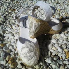 Espardeña Shoe Brides. Exclusive designs.