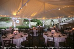 tent lighting ideas. This Tented Wedding Has Twinkle Lights Behind The Taffeta Tent Liner. As  Evening Wore Lighting Ideas