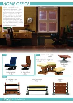 Furniture for the home - The JOHN Collection 3 [p3]