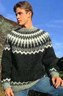 Mens lopi sweater