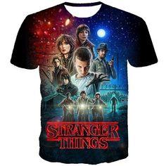 Stranger Things Tv Show T-shirt