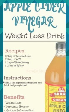 How to use apple cider vinegar detox drink for weight loss and fat burning. - How to use apple cider vinegar detox drink for weight loss and fat burning. Vinegar Detox Drink, Apple Cider Vinegar Detox, Vinegar Diet, Water Recipes, Detox Recipes, Drink Recipes, Tuna Recipes, Makeup Tricks, Weight Loss Drinks