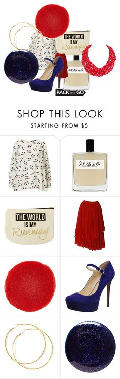 """""""Rio rendezvous"""" by alisafranklin on Polyvore featuring Marella, Olfactive Studio, New Look, Christian Louboutin, Jessica Simpson, Lauren B. Beauty and Humble Chic"""