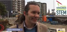 joeri wiersma, lijsttrekker Nederlandse Klokkenluiders Partij (NKP) lijst 13