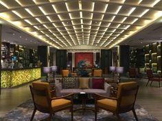 Hainabaichuan Hotel, Hangzhou, China Lounge Lighting, Lighting Design, Lobby Lounge, Hangzhou, Outdoor Furniture Sets, Outdoor Decor, Patio, Contemporary, Studio