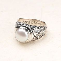 I have this ring and I LOVE it!!  So pretty for special nights out and great to dress up everyday wear!