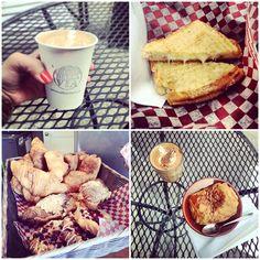 Caffè della Via   À la mode Montréal #montreal #food #coffee #baristas #brunch