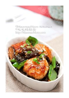 【Scallop and Snow Pea Stir-fry】 by MaomaoMom Tender and succulent scallops in savory sauce, what a treat for you and your family. Chinese Home Cooking Recipes, Asian Recipes, Chinese Recipes, Chinese Food, Japanese Food, Ethnic Recipes, Savoury Dishes, Food Dishes, Food Food