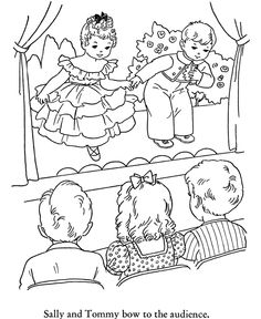 Kids Winter Coloring Pages Free Printable School Play Featuring Book Page Sheets