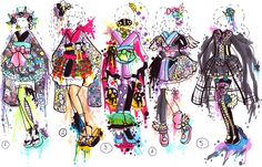 SOLD- Fashion kimono outfits by Guppie-Adopts on deviantART