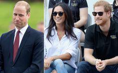 ハリー王子&メーガン・マークルの婚約を問われたウィリアム王子の反応は?