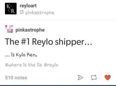 Yass!! #reylo shippers unite!!//// and snoke and the force, and jj, and rian, and Adam, and mark