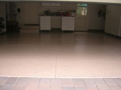 A very detailed and insightful walk through of a Rustoleum epoxy shield concrete #floorpainting job.