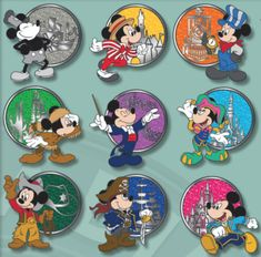 Here is a look at the New Disney Pins January 2019 Week 2 at Disney Parks! Features World's Biggest Mouse Party, Windows of Evil, and Kingdom Consoles! Disney Pins Sets, Disney Trading Pins, Mickey Mouse Pins, Mickey Mouse And Friends, Disney Parks, Walt Disney, Disney Belle, Disney Toys, Disney Stuff