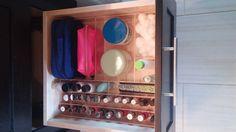 Manicure Deep Drawer Organizer - Design your own acrylic drawer organizers online at OrganizeMyDrawer.com
