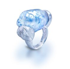 Blue Baroque South Sea Pearl Ring - Yvel - Product Search - JCK Marketplace