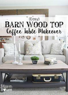 Barn Wood Top Coffee
