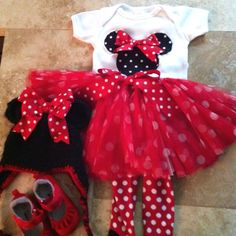 Minnie mouse costume #halloween #minnie mouse #kids #toddler #costume #red & The Perfect DIY Minnie Mouse Costume | Pinterest | Minnie mouse ...
