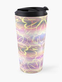 Cool Travel Mugs, Custom Travel Mugs, Teenage Girl Gifts Christmas, Birthday Gifts For Girls, Gifts For Teens, Mug Designs, Home Accessories, Mandala, Best Gifts